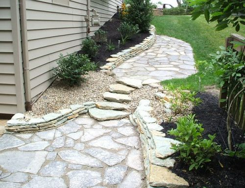 Residential Natural Flagstone Walkways