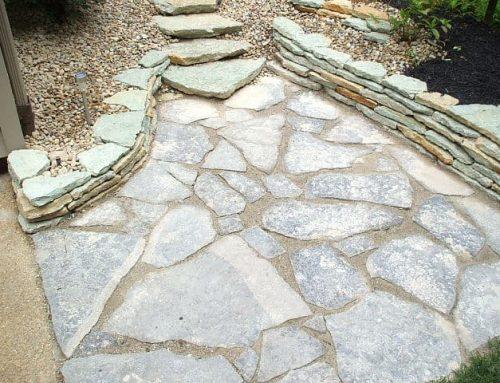 Residential Natural Flagstone Walkways
