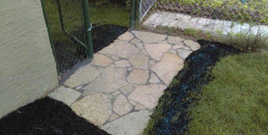 jonathan allen – flagstone – small flagstone patio